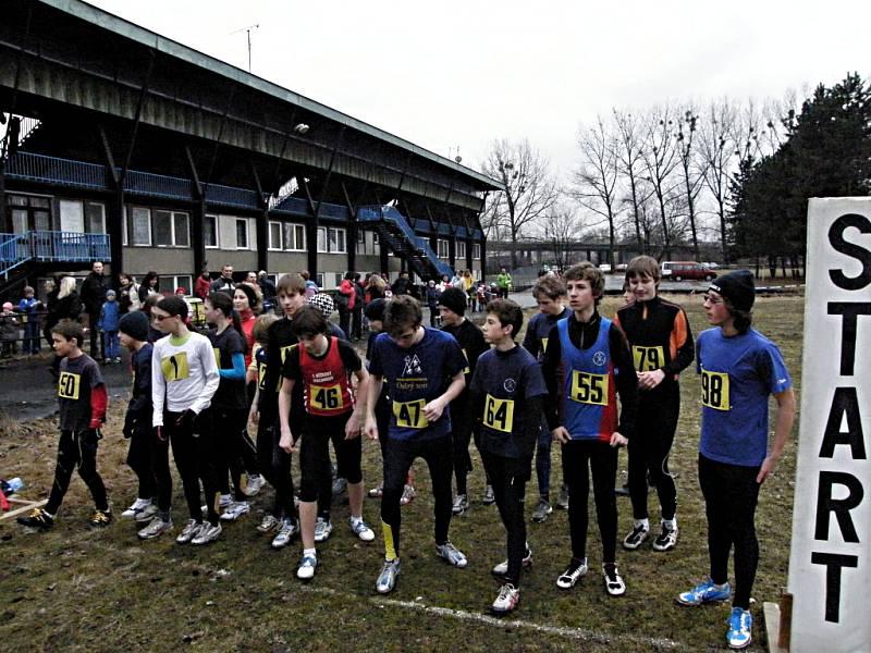 V areálu frýdecko-místeckého stadionu TJ Slezan se v polovině března běžel již 12. ročník Slezanského krosu.