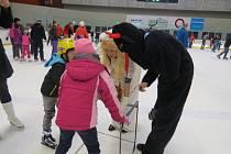 Akce s názvem Mikuláš na ledě se o víkendu konala v hale Polárka ve Frýdku-Místku.