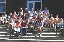 Mladé gymnastky z Frýdku–Místku se v Kunčicích pod Ondřejníkem zúčastnily  soustředění.