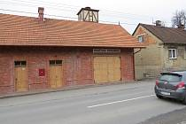 Požární zbrojnice v Bruzovicích.