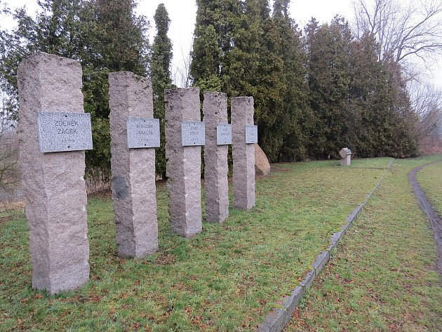 Pomník připomíná oběti exemplárního trestu.