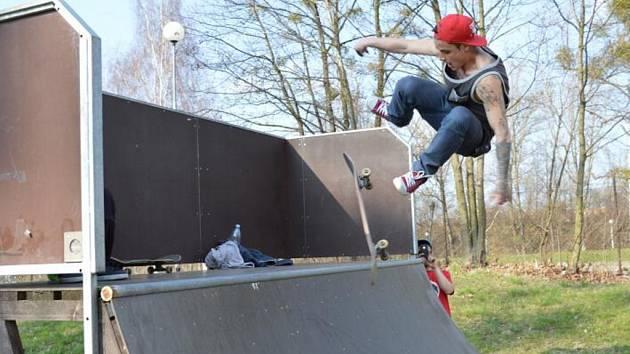 Skatepark v ulici 28. října ve Frýdku-Místku.