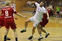 V dohrávce 9. kola nejvyšší soutěže házenkářů si hráči frýdecko-místeckého SKP poradili na domácí palubovce s Kopřivnicí 29:26.