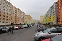 Největší frýdecko-místecké sídliště Slezská.