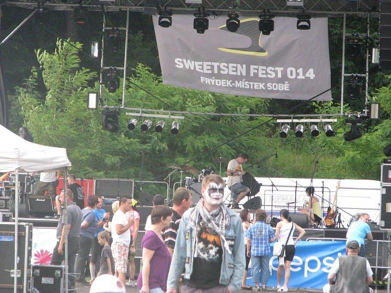 Jedenáctý ročník Sweetsen festu ve Frýdku-Místku, sobota 28. června 2014.