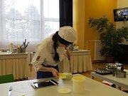 Mladí cukráři se utkali v boji o nejlepší slavnostní dort v soutěži Podbeskydský ještěr.