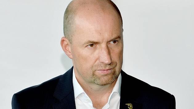Sportovní manažer Ocelářů Jan Peterek.