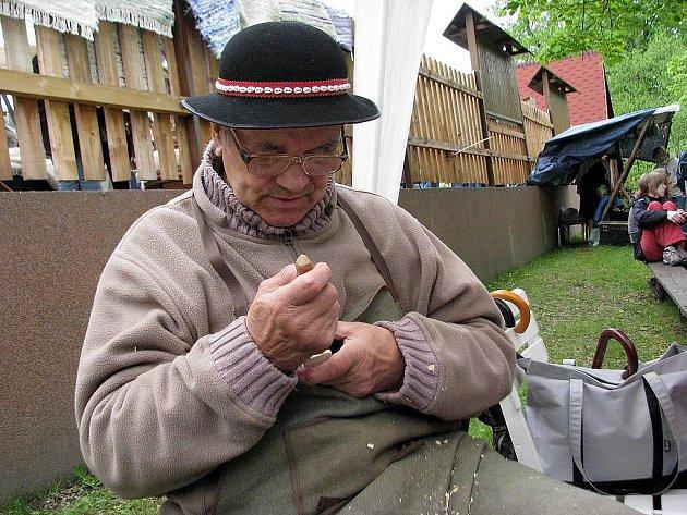 Klement Brokeš předváděl své umění i na sobotní akci v Košařiskách.