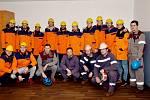 Hokejoví Oceláři navštívili Třinecké železárny.