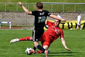 Fotbalisté Třince prohráli v Chrudimi gólem v závěru.