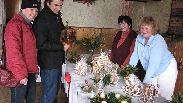 Vánoční výstava v Janovicích.