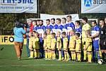 Fotbalový zápas I.A třídy mezi Lučinou a Albrechticemi se objevil v přímém televizním přenosu.