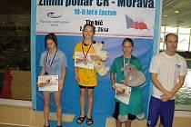 Mladí plavci z PO Frýdek-Místek se zúčastnili Zimního poháru.