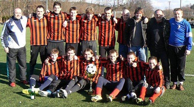 Fotbalisté Dobré se stali vítězi osmého ročníku zimního turnaje ve Vřesině.