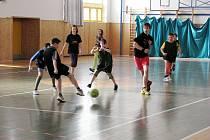 Organizace Pionýr uspořádala v neděli 22. února dopoledne již sedmý ročník fotbalového turnaje pro děti v tělocvičně v Paskově.