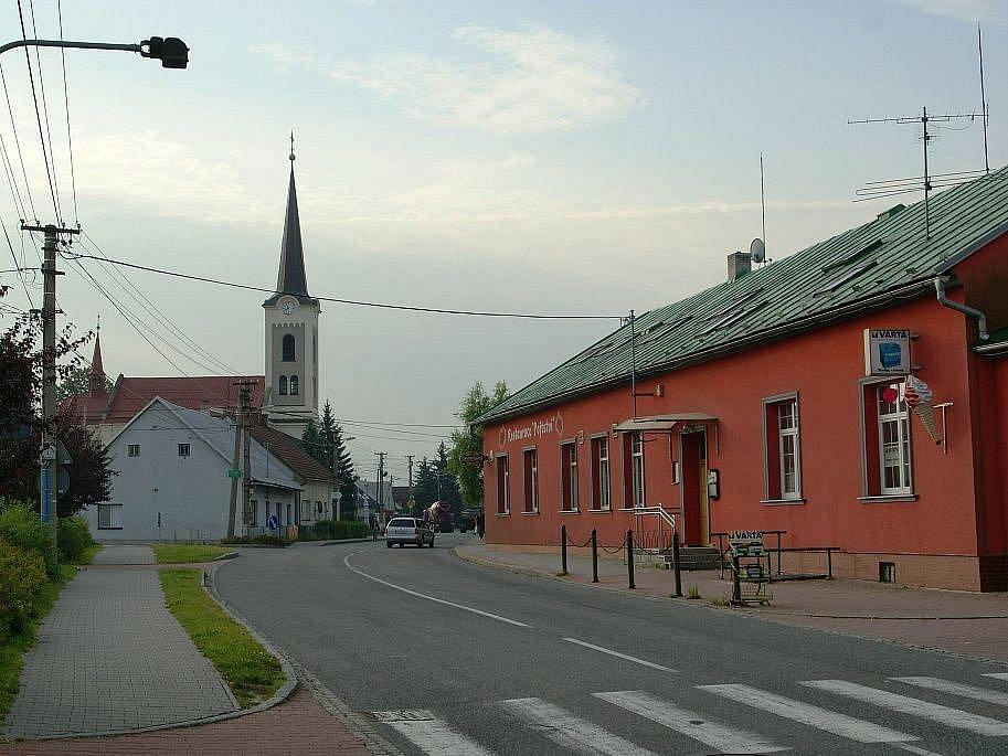 Hlavní ulice.