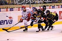 Oceláři vyhráli v Litvínově.