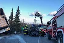 Tragická nehoda v Třinci-Neborech.