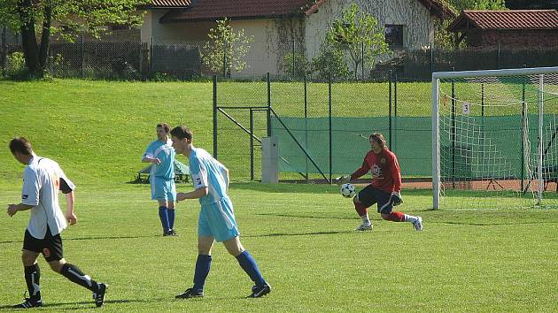 Fotbalisté Starého Města zdolali na domácím trávníku albrechtický Baník.