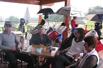 Na golfový turnaj Moravia Cup 2014 v Ostravici se sjeli špičkoví golfisté z různých zemí světa. Akce byla součástí osmidílné série Czech PGA Tour. Závěr turnaje v pondělí poznamenalo deštivé počasí.