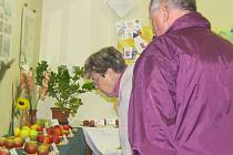 Zahrádkáři z Raškovic připravili na poslední zářijový víkend výstavu ovoce, zeleniny a květin.