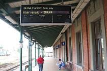 Železniční stanice ve Frýdku-Místku. Ilustrační foto.