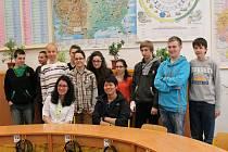 ZAHRANIČNÍ studenti si pobyt ve Frýdku-Místku užívali.
