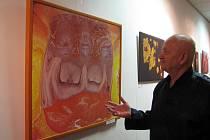 Lidé mají poslední možnost podívat se na obrazy Andrewa Aloise Urbiše v galerii Lara na Čeladné.