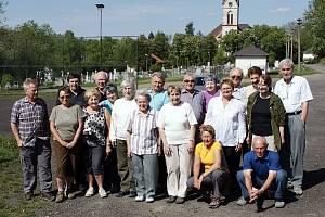 Turističtí veteráni na srazu v Janovicích.