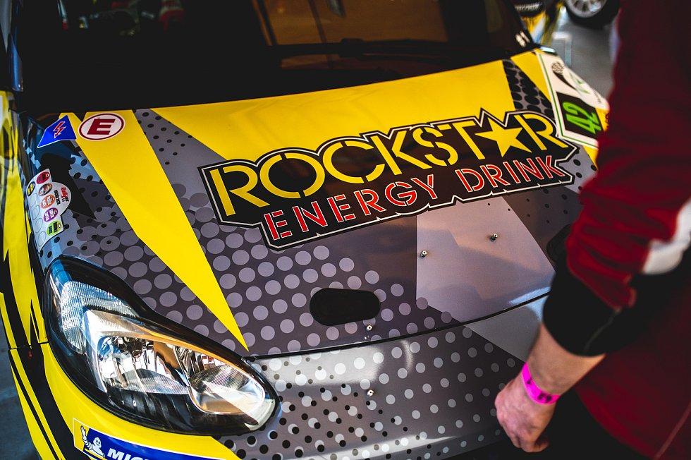 KOWAX Valašská rally ValMez 2021, páteční Shakedown. Polygon Tatra Kopřivnice. 26. března 2021.