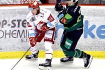 Jiří Polanský (vlevo) je zkušeným matadorem a tak pozná, kdy je čas na výhru.