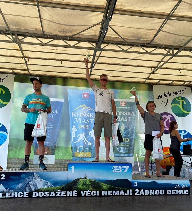 Vítěz extrémního triatlonu Tibor Szabo ze Slovenska.