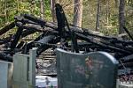 Dřevěný kostel Božího těla v Gutech lehl 2. 8. 2017 popelem.