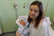 Jakub Bauer s maminkou, Třinec, nar. 20.10., 3,79 kg, Nemocnice Třinec.