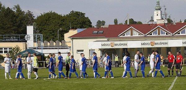 Fotbalisté Brušperku prohráli na domácím hřišti sDětmarovicemi 2:0.