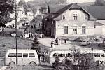 Restaurace Fojtství (Na Spáleném) – 50. léta. Později přestavěno na obytný dům.