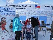 Olympijský festival ve Ski areálu v Mostech u Jablunkova.