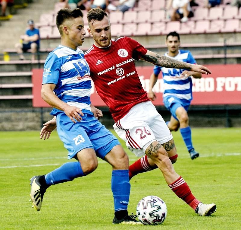 Fotbalisté Třince doma nestačili na Ústí nad Labem.