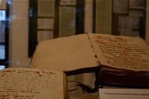 Část expozice o rodokmenech v Muzeu Beskyd ve Frýdku-Místku.