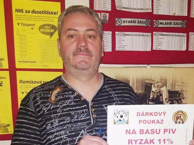 Vítězem úvodního kola jarní TIP ligy se stal Pavel Makovický zTřince.