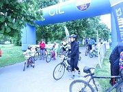 Ve Frýdku-Místku se v sobotu ráno u přehrady Olešná už počtvrté za sebou setkali cyklisté z širokého okolí.