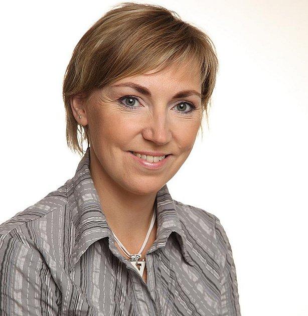 Ředitelka Městské knihovny Třinec Martina Wolna.