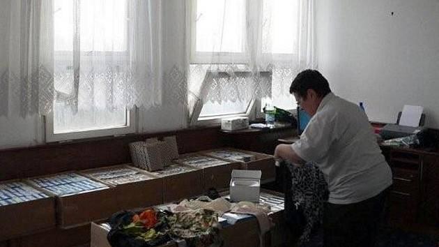 Výběr pomůcek pro ženy v třinecké nemocnici Podlesí, které přišly o ňadro.