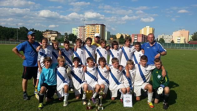 Mladší žáci Frýdku-Místku vyhráli turnaj v Přerově .