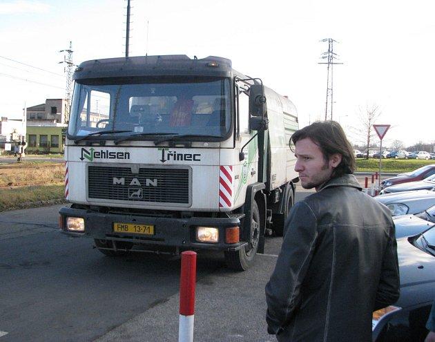 Vůz společnosti Nehlsen Třinec. Ilustrační snímek.