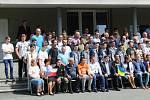 Účastníci mezinárodní svářečské soutěže Zlatý pohár Linde.