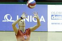 Volejbalistky Frýdku-Místku podlehly v domácím prostředí hráčkám Olomouce 0:3.