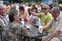 V Nýdku se v sobotu konal desátý ročník populárního Bierfestu.