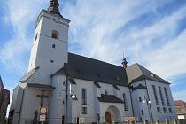 Kostel v Jablunkově.