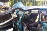 Nehoda v Palkovicích na Frýdeckomístecku.